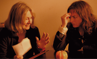 Photographie Micheline Lanctôt et Pascale Bussière