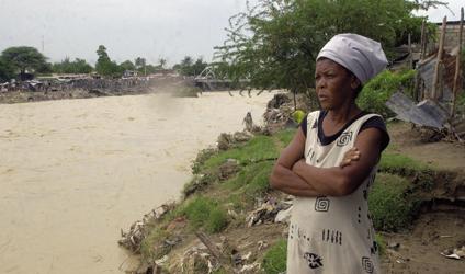 Photographie d'une femme Haïtienne