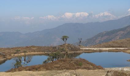 Photographie d'un paysage du Népal.