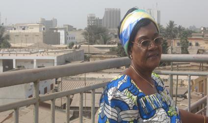 Photographie d'une femme au Togo