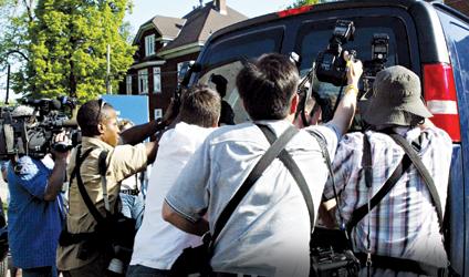 Photographie de la crise d'Homolka