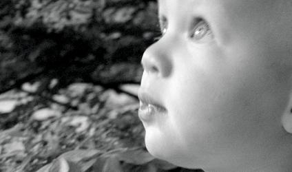 Photographie d'un bébé