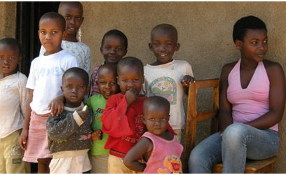 Famille rwandaise