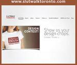 Première page du site Internet SlutWalk