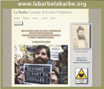 Page Web La Barbe
