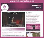 Illustration de la page d'accueil de Filles d'action