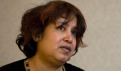 Photographie de Taslima Nasreen