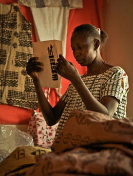 Photographie de Salimata.
