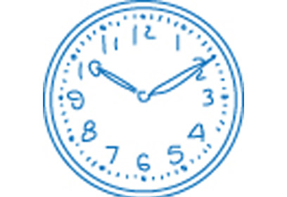 Illustration d'une horloge