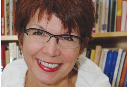 Photographie de Diane Doyon, fondatrice des Cercles de leg.