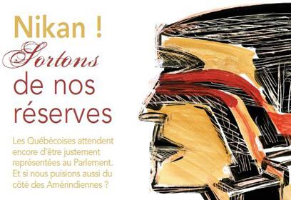 Illustration Nikan ! Sortons de nos réserves