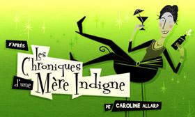 Logo du site Internet Mère indigne.