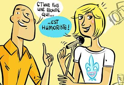 Vignette de l'article «Humour au féminin»