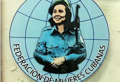 Logo de la Fédération des femmes cubaines.