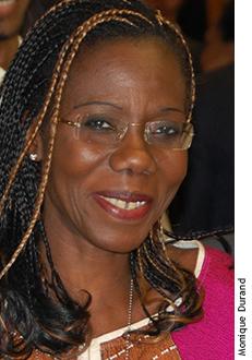 Photographie de Fatou Kiné Camara.