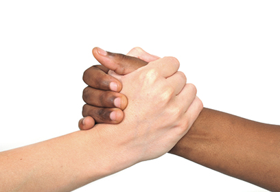 Rencontre blanc et noir
