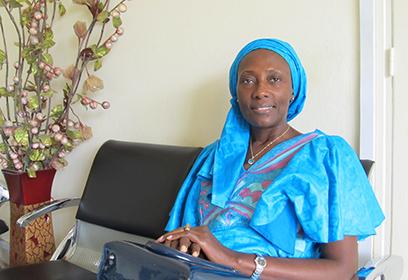 Photographie de Fatou Kiné Diop.
