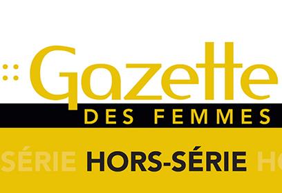 Logo de la Gazette des femmes.
