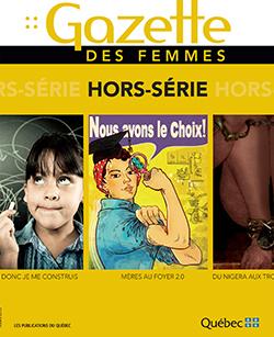 Page couverture du hors-série de la Gazette des femmes.