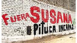 Photographie d'un graffiti peint sur un mur de Lima.