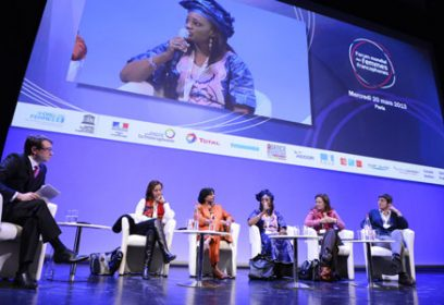 Photographie du Forum mondial des femmes francophones.