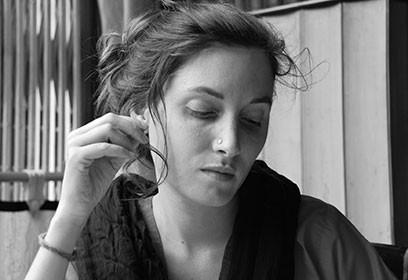 Photographie de Andrée-Marie Dussault.