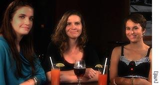 Photographie Anik Salas avec Ramza Chaaban et Clara Lagacé.