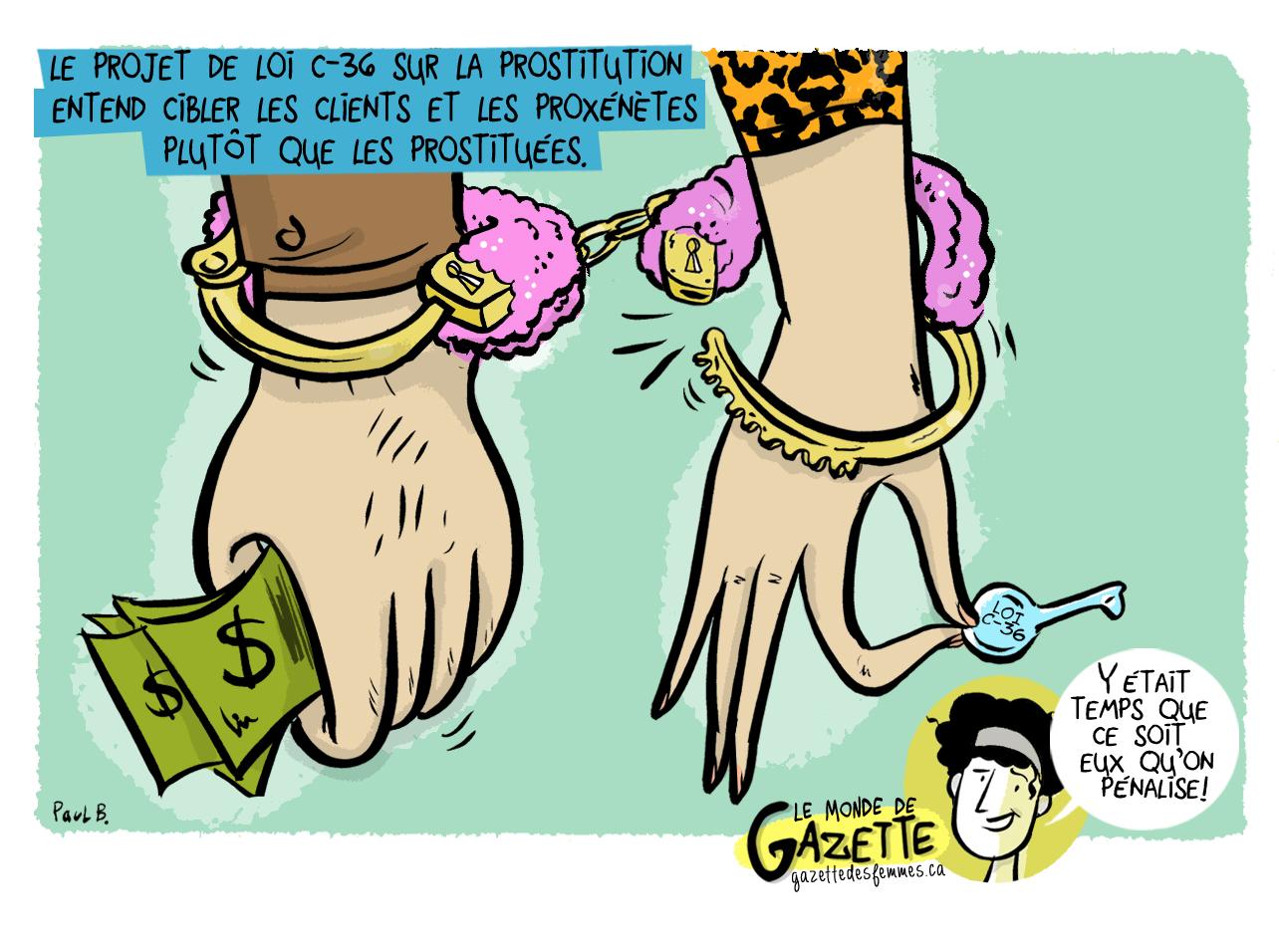 Image de la caricature