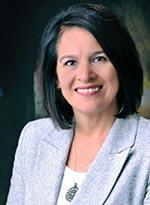 Photographie d'Édith Cloutier, directrice générale.