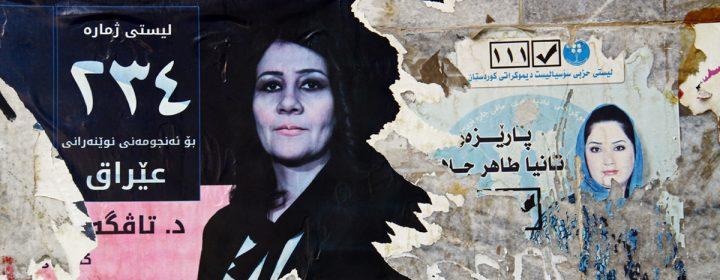 Couverture « Députées kurdes - l'égalité comme combat »