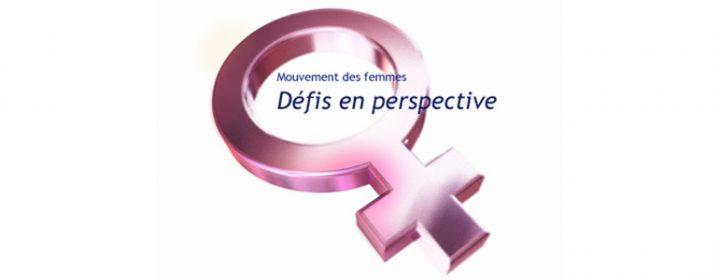 Illustration du dossier Mouvement des femmes - Défis perspective.