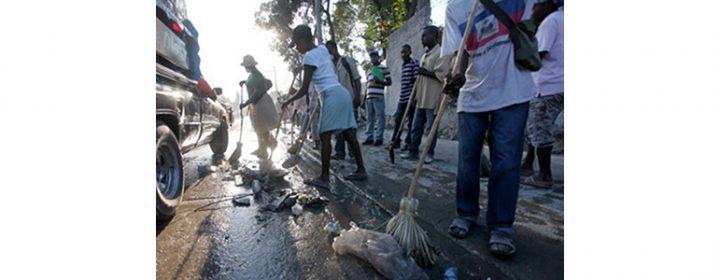 Photographie du dossier Haïti - Pas sans les femmes.