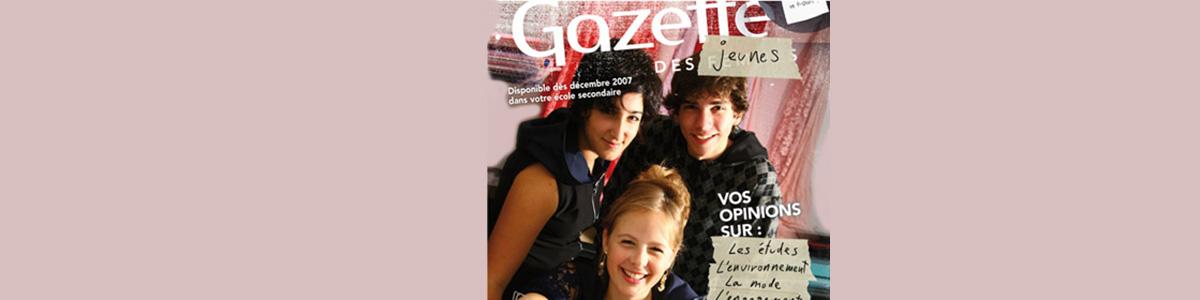 Illustration du Dossier Gazette des jeunes.