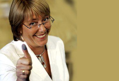 Photographie de Michelle Bachelet.