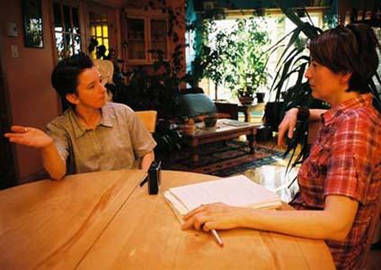 Photographie de Manon Tremblay et Pascale Navarro.