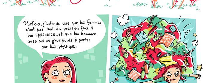 Illustration de la chronique Petites et grandes réflexions au féminin.