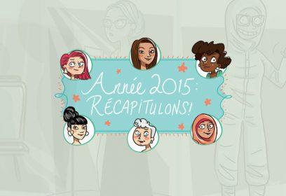 Illustration de différentes figures féminines.