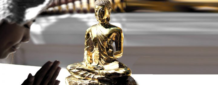 Statue de Bouddha.