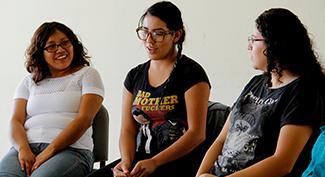 5 lesboterroristes et organisatrices École droits des jeunes femmes.