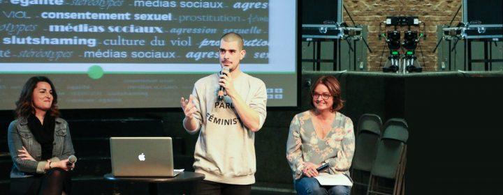 Marilyse Hamelin, Koriass et Julie Miville-Dechène.