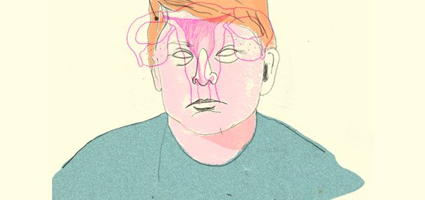 Illustration de Donald Trump.