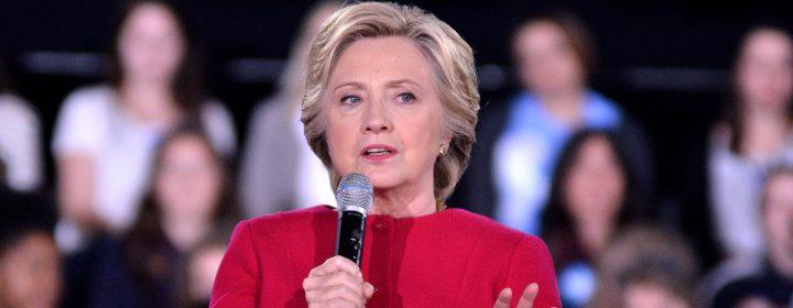 Photographie d'Hillary Clinton.