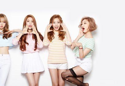 Photographie de jeunes Sud-coréennes.