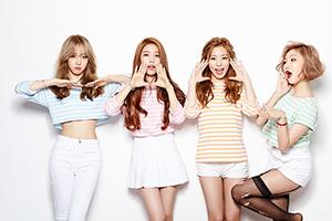 Jeunes coréennes.
