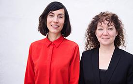 Photographie de Hélène Belleau et Delphine Lobet.