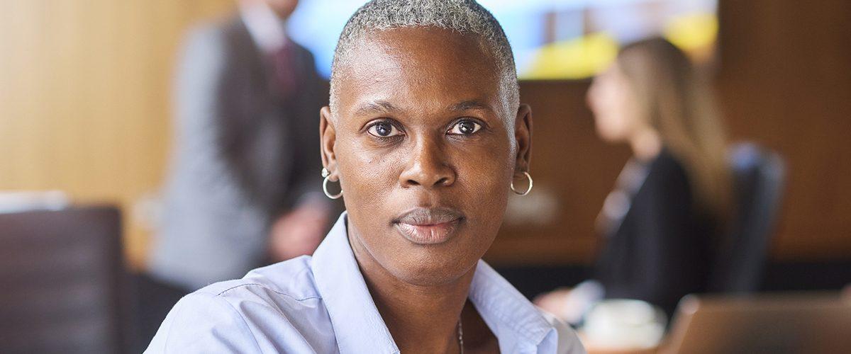 Jeune femme noire.