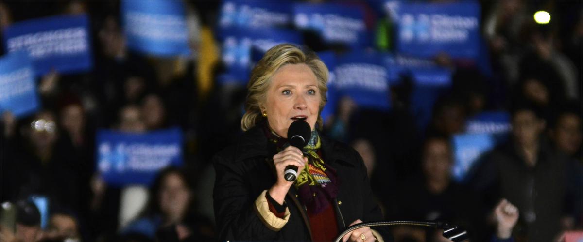 Photographie de Hilary Clinton.