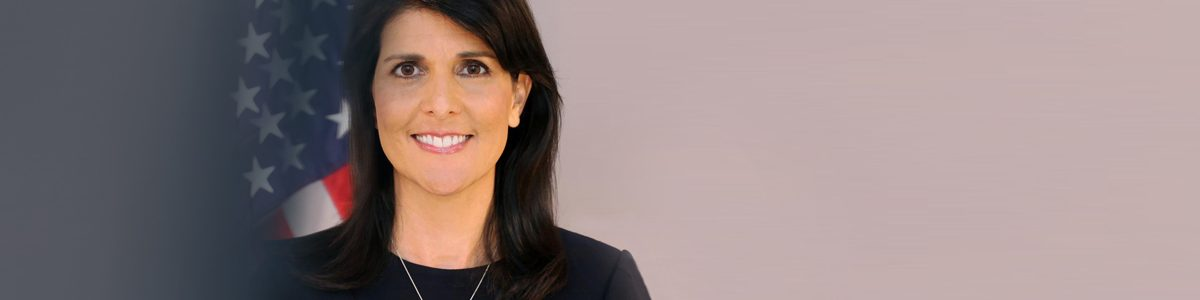 Photographie de Nikki Haley.