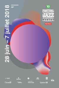 Visuel du festival de jazz de Montréal.