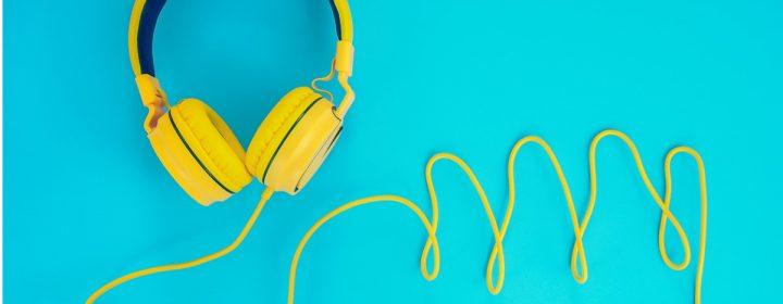 Photographie d'une paire d'écouteur.